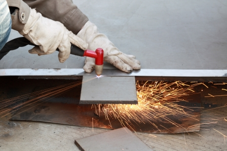 Air plasma cutting